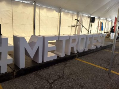 Marquee Letter Tables