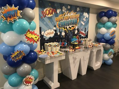 Giant Marquee Letters Birthday 1